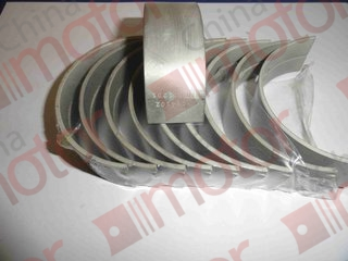 Вкладыши коренные 0.00  DONG FENG-1062, 1045;  JAC-1040, 1045, 1061(к-т 10шт)