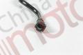 """Трубка охлаждения воздушного компрессора (ISBe,ISDe) V=4.5 отводящая короткая пластиковая """"Аналог"""""""