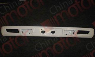 Бампер передний BAW-33463 Tonik белый (металл)