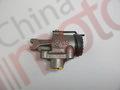 Цилиндр тормозной передний правый YUEJIN 1041 задний (проходной) 2 к-р 3501N38450 (крепление 34*46, M8*1,5)(Ø40) (штуцер M10*1,5)