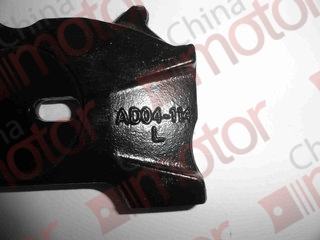 Пластина упорная суппорта L BAW 1044/1065 Е 2/3  YF3501AD04-100 (деталь для востановления)