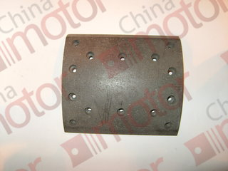 Накладка тормозная задняя DONGFENG 220x195x15.8мм  7,5ммx14 отверстий
