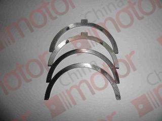 Полукольца упорные коленчатого вала (CY4100Q) DONGFENG-1045, 1062, 6600, JAC 1040 (6102.02.15-1A+6102.02.16-1A) (комплект 4 шт)