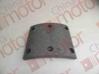 Накладка тормозная  YUE JIN 1080 (пер/зад),  DongFeng 1062 (зад) (120mm)