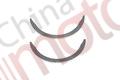 Полукольца упорные коленчатого вала  ISUZU NLR85,NMR85, JMC 1032/43/51/52 (к-т 2шт),1002014BB