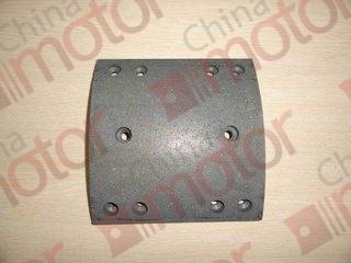 Накладка задней тормозной колодки FOTON 1138 (185x180x14.5/11) (10 отв.)  ZK6852HG