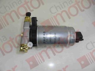 Фильтр топливный сепаратор в сборе JAC N120,56,75 (ISF) c подогревом, c датчиком воды (3 контакта), элементом UW0061-D (1105100LE190) 4DA1-2B2 JAC