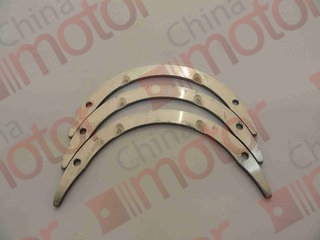 Полукольца упорные коленчатого вала FOTON-1089, FAW 1083, JAC1083 ( к-т 3шт)