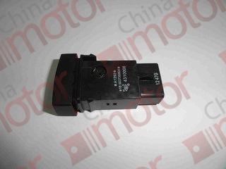 Выключатель (кнопка) аварийной сигнализации FOTON 1039/1049С (12V) 1B18037300024