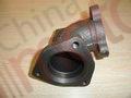 Патрубок турбокомпрессора FOTON 1049А/1069/1099 (металл) Т64703008А