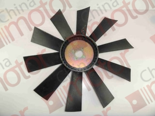 Вентилятор радиатора охлаждения FOTON-1069,1099 (545 мм) Т64406008 P160 (Крыльчатка вентилятора)