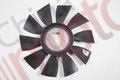 Вентилятор радиатора двигателя FOTON-1138 (Крыльчатка вентилятора)