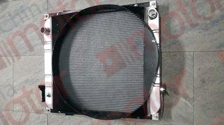 Радиатор системы охлаждения FOTON с диффузором (620x710x65)