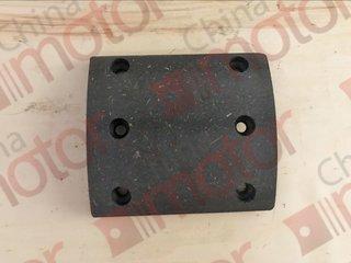 Накладка тормозная задняя YUTONG ZK6737D CR40 130x150x13 (6 отв/100 свер)