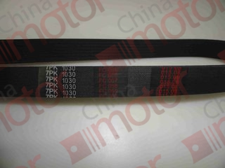 "Ремень 7PK1030 ISUZU NLR85/NMR85 вентилятора 4JJ1-T 8980031870 ""CHINA"""