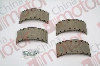 "Накладки колодки тормозной ISUZU NQR71/75 (4шт) ""ISUZU"" (120x308)"