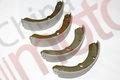 """Колодки тормозные задние ISUZU NLR85 (2009- ) (накладки клеенные) (75x145mm) (к-т, 4шт) """"CHINA"""""""