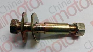 Болт амортизатора переднего M16x110mm ( верхний) (в сборе с втулкой, гайкой и шайбами) FOTON 1069/1099 (металл.)  к-т