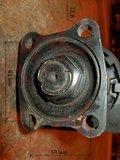 Вал карданный передний в сборе с подвесным L=865mm. D=90. (крепление 59х81mm)