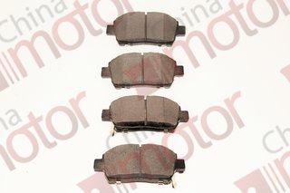 Колодки тормозные передние Geely SC7, Vision  (4 шт.)