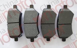 Колодки тормозные передние Lifan X60  (4 шт.)