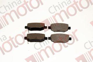 Колодки тормозные задние Lifan X60  (4 шт.)